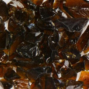Amber Brown Aquarium Glass