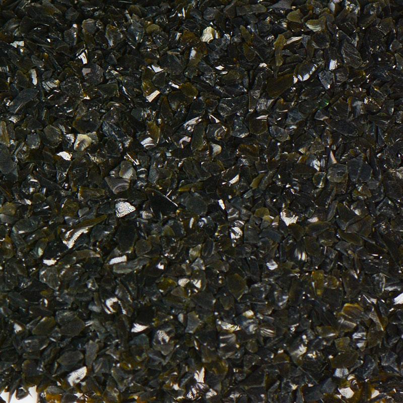 Black Size 0 Terrazzo Glass | Terrazzo Glass | Terrazzo