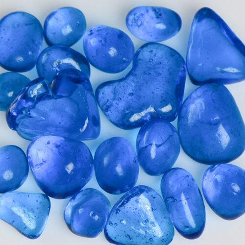 Blue Raspberry Jelly Bean Glass