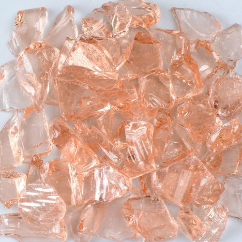 Pink Champagne Countertop Glass