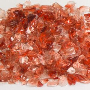 Cranberry Aquarium Glass
