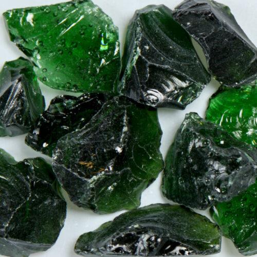 Dark Green Terrazzo