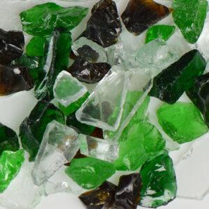 Earthtone Mix Aquarium Glass
