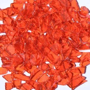 Flat Orange Aquarium Glass