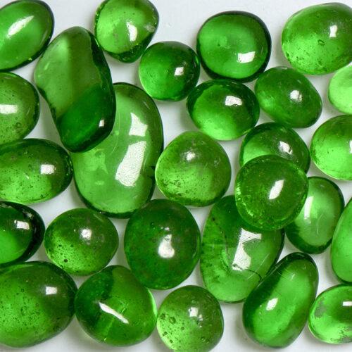 Green Apple Jelly Bean Glass