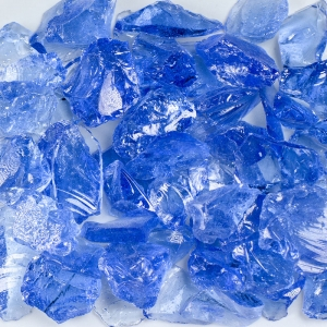 Light Blue Aquarium Glass