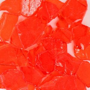 Flat Orange Terrazzo