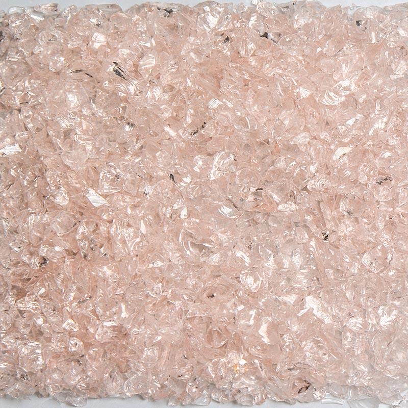 Pink Champagne Size 0 Terrazzo Glass Terrazzo Glass