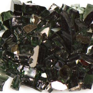 Reflective Black Aquarium Glass