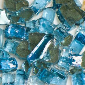 Reflective Blue Terrazzo