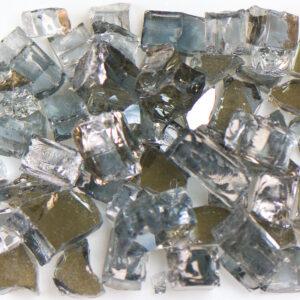 Reflective Gray Aquarium Glass
