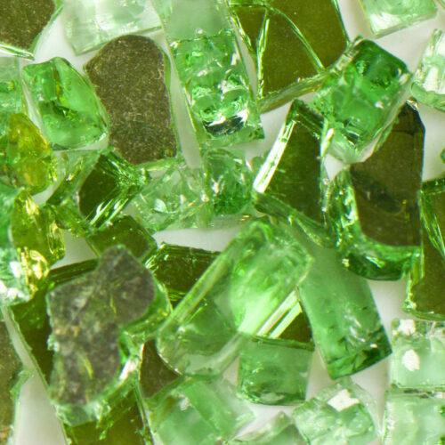 Reflective Green Terrazzo