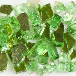 Reflective Green Aquarium Glass