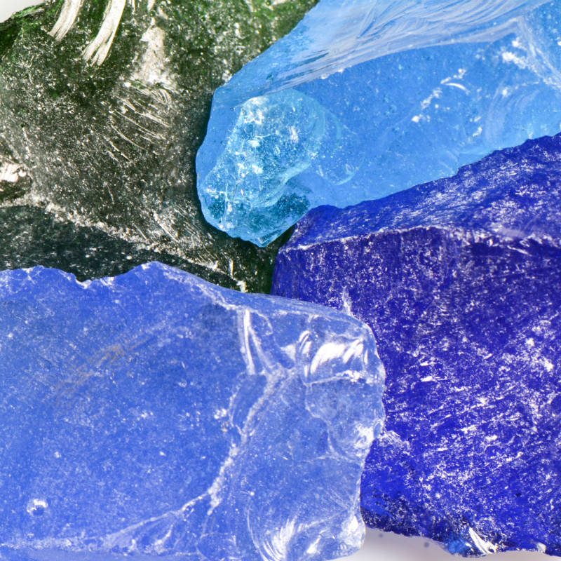 River Mix Large Landscape Glass   Landscape Glass