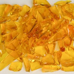 Flat Yellow Aquarium Glass