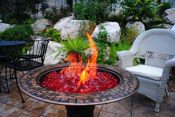 Fireplace Glass Gallery - Fireplace Glass | Fire Pit | Decorative ...